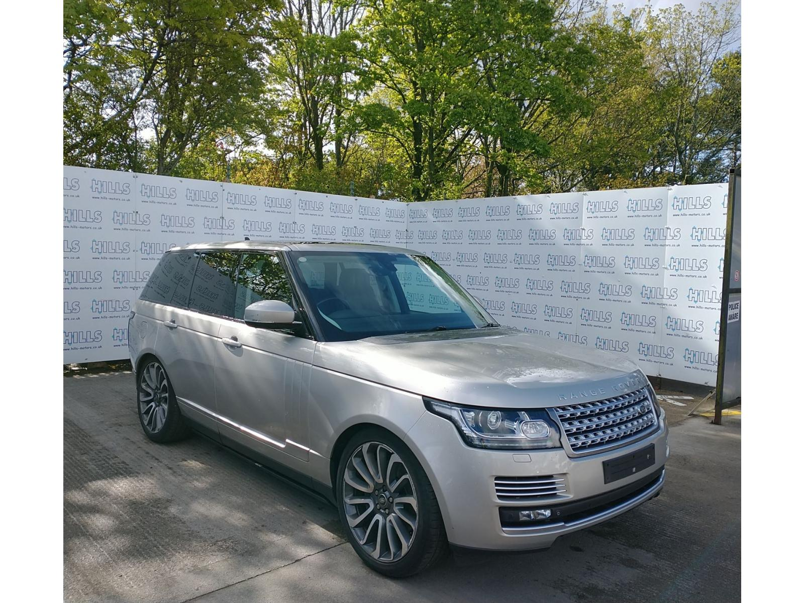 2015 Land Rover Range Rover SDV8 AUTOBIOGRAPHY 4367cc TURBO Diesel Automatic 8 Speed ESTATE