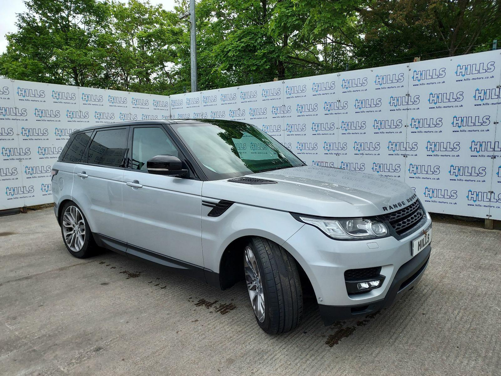 2017 Land Rover Range Rover Sport SDV6 HSE DYNAMIC 2993cc TURBO Diesel Automatic 8 Speed ESTATE