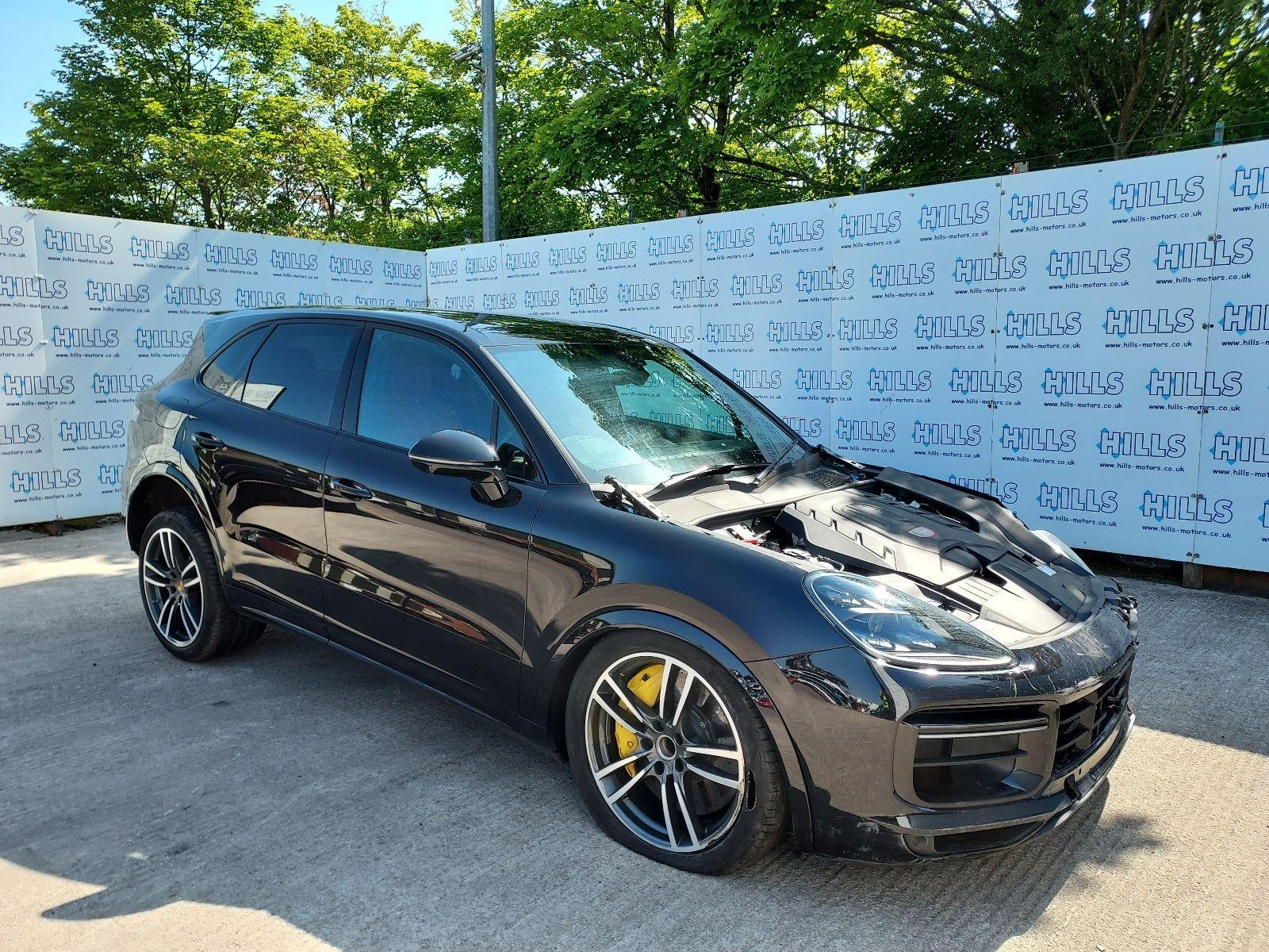 2018 Porsche Cayenne V8 T TIPTRONIC 3996cc TURBO Petrol Automatic 8 Speed ESTATE