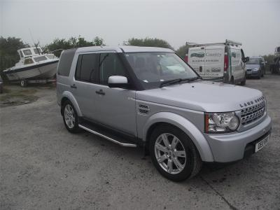 Image of 2011 LAND ROVER DISCOVERY 4 SDV6 GS 2993cc TURBO DIESEL AUTOMATIC 6 Speed HPI CLEAR