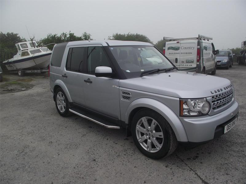 2011 LAND ROVER DISCOVERY 4 SDV6 GS 2993cc TURBO DIESEL AUTOMATIC 6 Speed HPI CLEAR