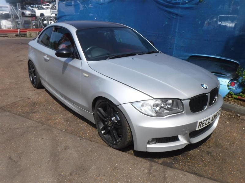 2009 BMW 1 SERIES 123D M SPORT 1995cc TURBO DIESEL MANUAL 2 DOOR COUPE