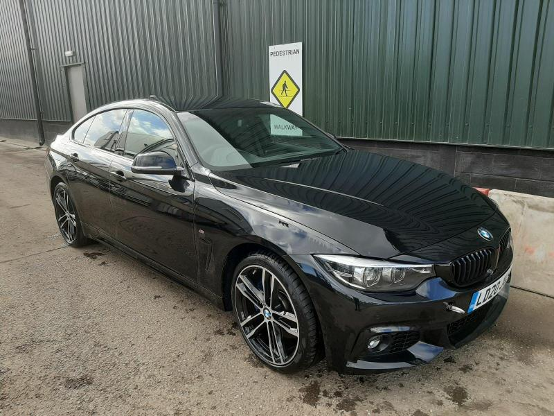 2020 BMW 4 SERIES 420D M SPORT GRAN COUPE 1995cc Turbo Diesel Automatic Coupe