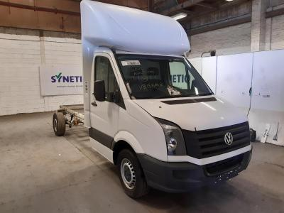Image of 2015 VOLKSWAGEN CRAFTER CR35 TDI C/C 1968cc TURBO DIESEL MANUAL 6 Speed CHASSIS CAB