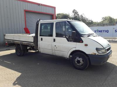 Image of 2005 FORD TRANSIT 350E 2402cc DOUBLE CAB
