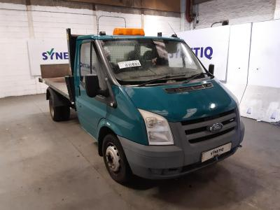Image of 2008 FORD TRANSIT 350 MWB 2402cc TURBO DIESEL MANUAL 6 Speed CHASSIS CAB