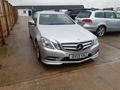 Image of 2013 MERCEDES E-CLASS E250 CDI BLUEEFFICIENCY S/S SP 2143cc TURBO DIESEL AUTOMATIC 7 Speed 2 DOOR COUPE