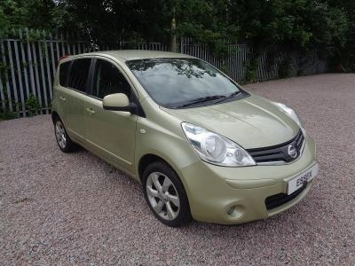 Image of 2010 NISSAN NOTE 1461cc 5SPD MAN FWD MPV