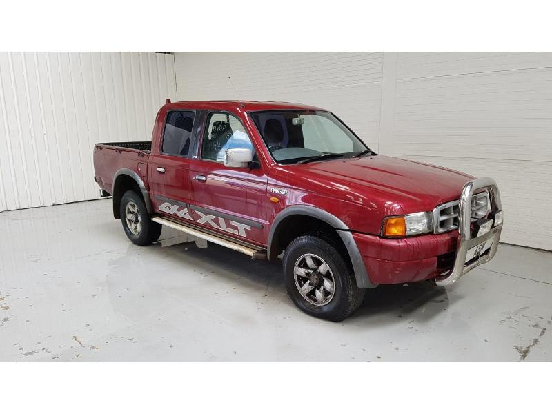 2002 Ford Ranger Double Cab XLT 4WD 2499cc Turbo Diesel Manual 5 Speed Pick-Up
