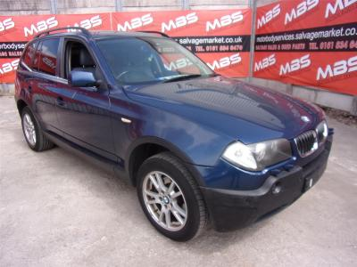 Image of 2006 BMW X3 D SE 2993cc TURBO DIESEL AUTOMATIC 6 Speed Estate