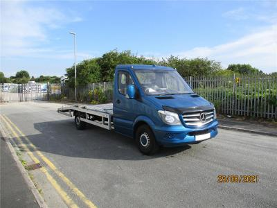 Image of 2015 MERCEDES SPRINTER 313 CDITURBO DIESEL MANUAL RECOVERY