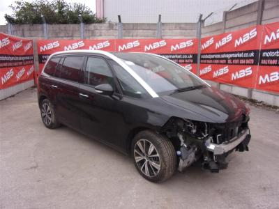 Image of 2016 CITROEN C4 PICASSO GRAND BLUEHDI FLAIR S/S EAT6 1560cc TURBO DIESEL AUTOMATIC 6 Speed MPV (MULTI-PURPOSE VEHICLE)