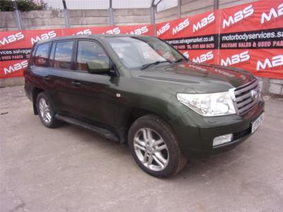 Image of 2010 TOYOTA LAND CRUISER V8 D-4D 4461cc TURBO DIESEL AUTOMATIC 6 Speed Estate