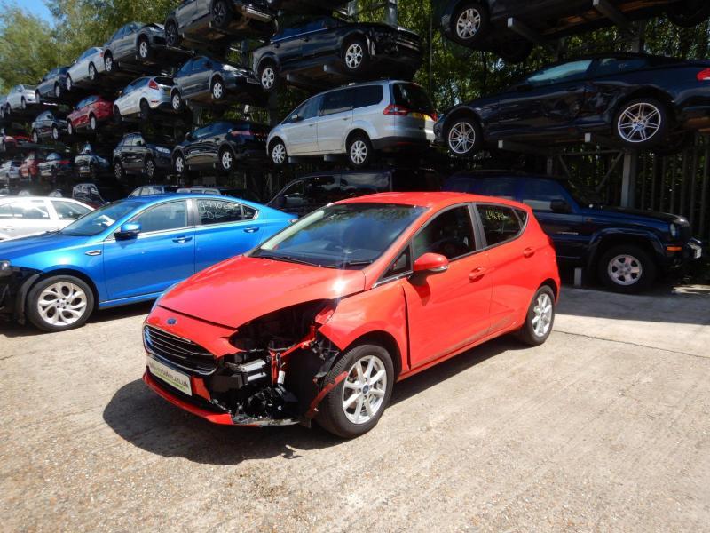 2018 Ford Fiesta Zetec Ti-VCT 1084cc Petrol Manual 5 Speed 5 Door Hatchback