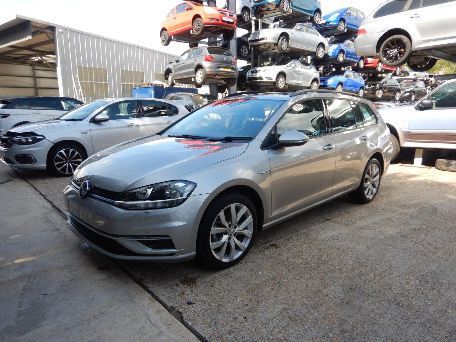 2019 Volkswagen Golf SE Nav TSI EVO 1498cc Turbo Petrol DSG 6 Speed 5 Door Estate