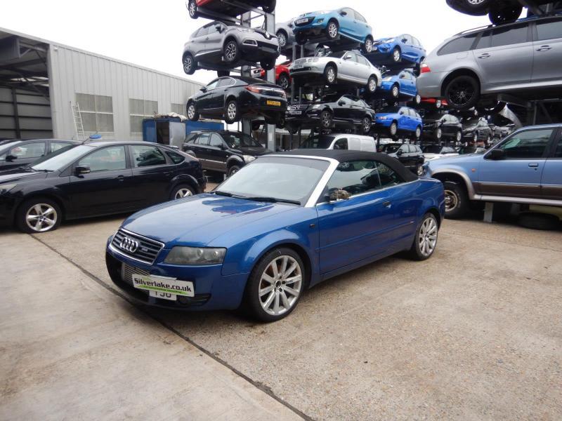2005 Audi A4 Sport 1781cc Turbo Petrol Manual 5 Speed 2 Door Cabriolet