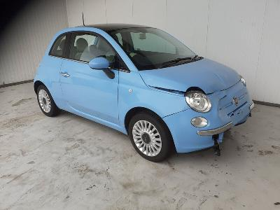 Image of 2013 FIAT 500 LOUNGE 1242cc Petrol 5SPD MAN FWD HATCHBACK