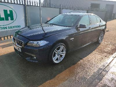 Image of 2014 BMW 5 Series 535D M SPORT 2993cc TURBO Diesel Automatic 8 Speed 4 DOOR SALOON
