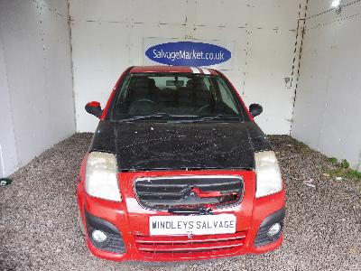 Image of 2009 Citroen C2 Vtr Hdi 1398cc Turbo Diesel Manual 5 Speed 5 Hatchback