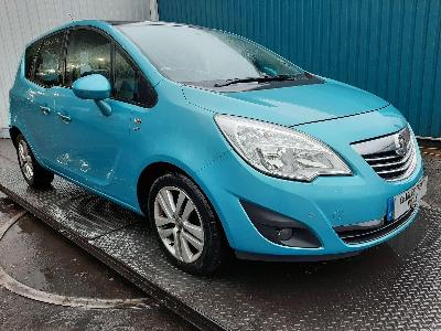 Image of 2011 VAUXHALL MERIVA SE 1398cc Petrol Manual 5 Speed MPV (MULTI-PURPOSE VEHICLE)