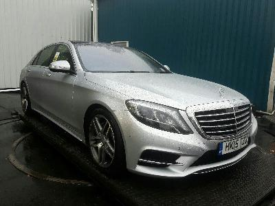 Image of 2015 MERCEDES S-CLASS S500 PLUG-IN HYBRID L AMG LINE 2996cc Turbo HYBRID ELECTRIC Automatic 7 Speed 4 Door Saloon