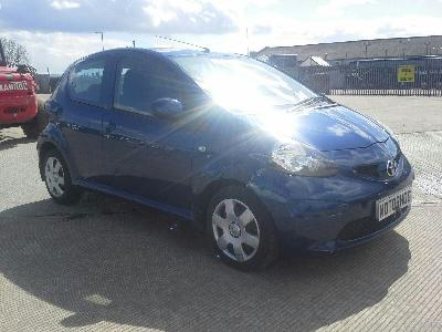 2007 TOYOTA AYGO BLUE VVT-I 998cc PETROL MANUAL 5 DOOR HATCHBACK