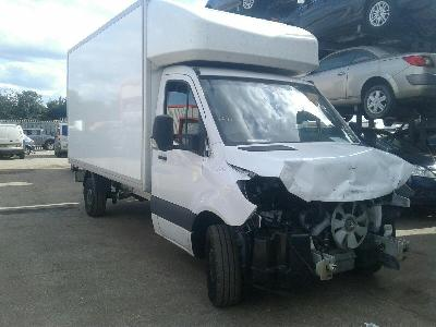 Image of 2018 MERCEDES SPRINTER 314 CDI 2143cc TURBO DIESEL MANUAL CHASSIS CAB 0