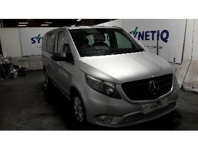 2016 MERCEDES VITO 111 BLUETEC TOURER SELECT 1598cc TURBO DIESEL MANUAL 5 DOOR MPV