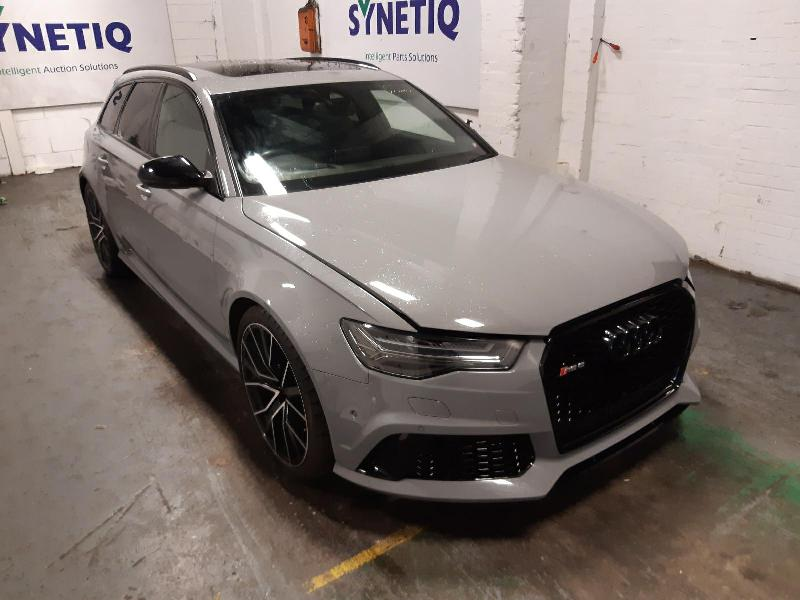 2016 AUDI A6 RS6 PLUS AVANT TFSI QUATTRO 3993cc TURBO PETROL AUTOMATIC 8 Speed 5 DOOR ESTATE