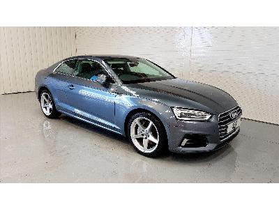 Image of 2017 Audi A5 Sport TDi Ultra 1968cc Turbo Diesel Manual 6 Speed 2 Door Coupe