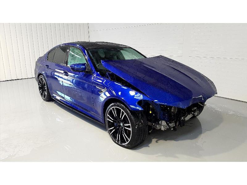 2018 BMW 5 Series M5 4395cc Turbo Petrol Sequential Automatic 8 Speed 4 Door Saloon
