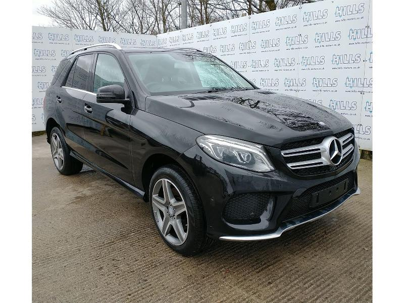 2016 MERCEDES GLE-CLASS GLE 250 D 4MATIC AMG LINE 2143cc TURBO Diesel Automatic 9 Speed ESTATE