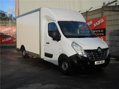Image of 2016 RENAULT MASTER LL35 BUSINESS DCI L/R LUTON 2298cc TURBO DIESEL MANUAL 6 Speed LUTON
