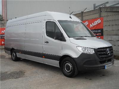 Image of 2019 MERCEDES SPRINTER 314 CDI 2143cc TURBO DIESEL MANUAL 6 Speed PANEL VAN (INTEGRAL)
