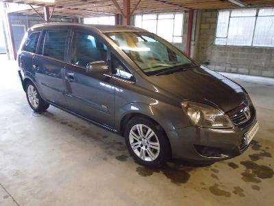 Image of 2012 Vauxhall Zafira Design Cdti 1686cc Turbo Diesel Manual 6 Speed 6 Mpv