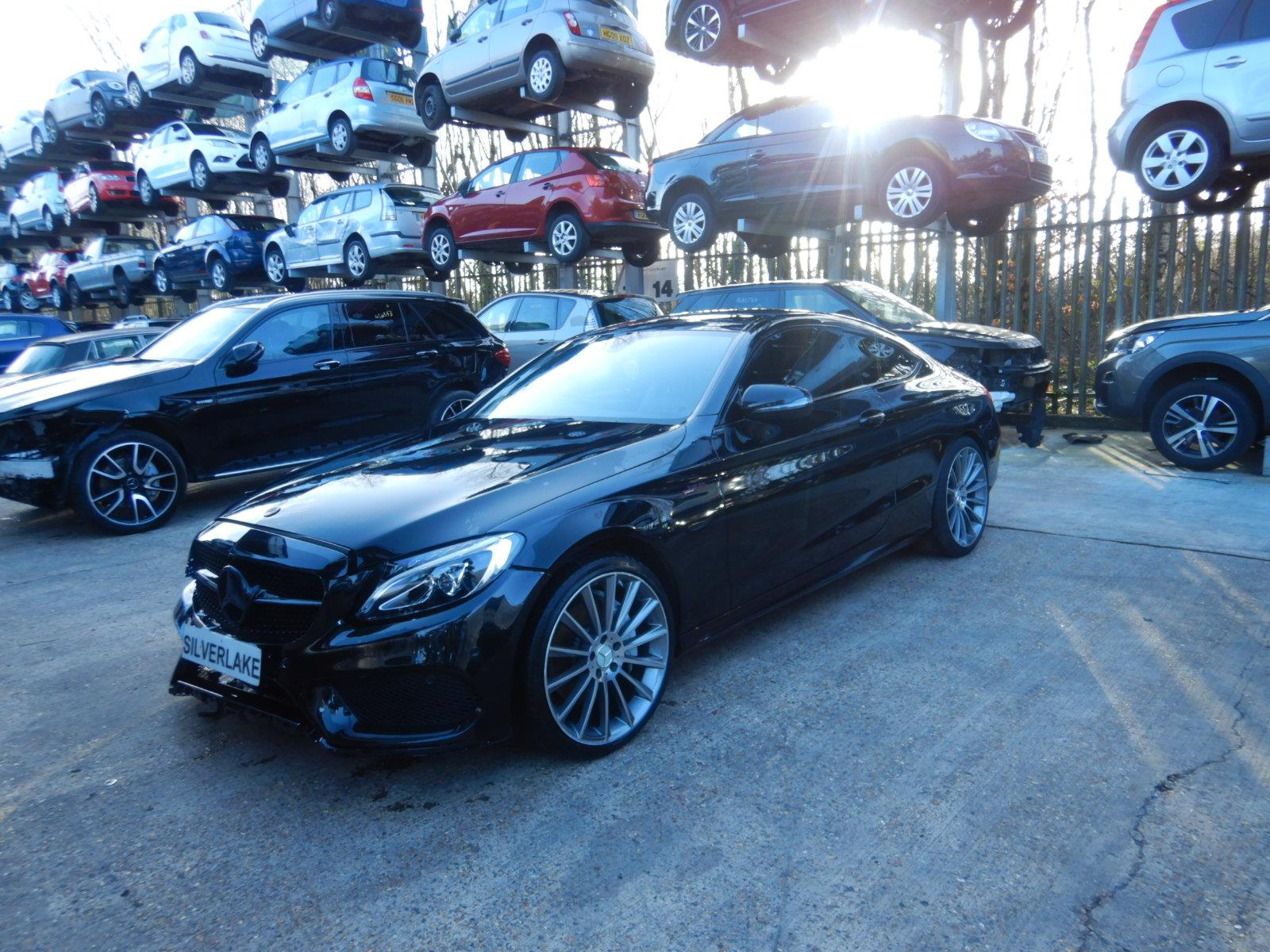 2016 Mercedes-Benz C Class C250 AMG Line d 2143cc Turbo Diesel Automatic 9 Speed 2 Door Coupe